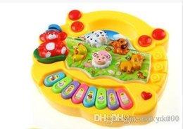 Music pianos online shopping - UK Gift Baby Kids Musical Educational Animal Farm Piano Developmental Music Toy Gifts