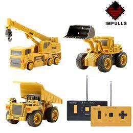 $enCountryForm.capitalKeyWord Australia - Impulls Mini RC Truck Rc Hydraulic Excavator Remote Control Car Crawler Educational Toys Toddler Toys for Boys for Children FSWB