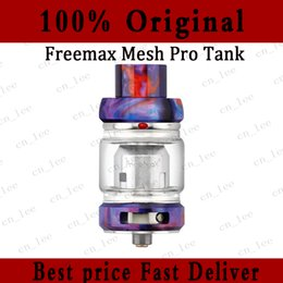 Mesh Fiber Australia - 100% Authentic Freemax Mesh Pro Subohm Tank Atomizer Resin Carbon Fiber 5ml Double & Triple Mesh Coil Sub Ohm Tank