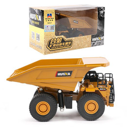 kids roller toy Australia - HN Diecast Tractor Shovel Alloy Model Toy, Wheel Loader Dump Truck, Road Roller,1:60 High Simulation, Ornament, Kid Birthday Gift,Collect 02