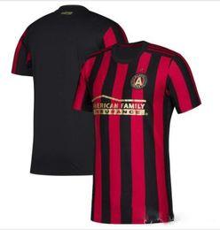 e4d662516597c new 19 20 Men Atlanta United Red White 2019 2020 MLS Custom team Jersey  Escobar Martínez Almiron villalba football shirt uniform top