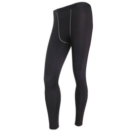 $enCountryForm.capitalKeyWord Australia - Men Long Thermal Base Layer Tights Warm Pants Plush Underwear Trousers Elastic Waist Thin Male Leggings