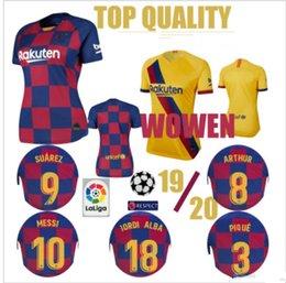 $enCountryForm.capitalKeyWord Australia - Top Quality Barce #10 Messi women soccer jersey PIQUE Griezmann #9SUAREZ MESSI 2019 2020 football training shirt uniforms women jerseys