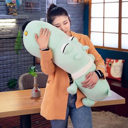 giant pink stuffed animals Australia - New Cartoon Dog Plush Toy Giant Stuffed Animal Dogs Doll Pillow for Children Lover Gift Deco 47inch 120cm
