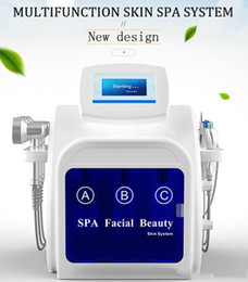 spa microdermabrasion machines Australia - Water Dermabrasion Hydra equipment Oxygen Spray RF Bio Lifting facial Skin Care Spa Facial Machine Hydro Microdermabrasion with 7 handles