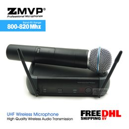 $enCountryForm.capitalKeyWord NZ - Free Shipping by DHL UHF Professional PGX24 BETA58 Wireless Microphone Cordless Karaoke System With Handheld Transmitter
