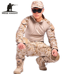 $enCountryForm.capitalKeyWord UK - Camouflage Military Clothing Paintball Army Cargo Combat Trousers Multicam Militar Tactical Pants With Knee Pads C19041303