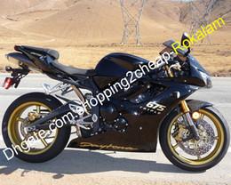 Custom sets online shopping - Custom Bodywork Shell Kit For Triumph Daytona Daytona675 Black Motorbike ABS Fairings set Injection molding