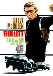 Giant Figure Australia - Bullitt Steve McQueen Giant Vintage Movie Art Silk Print Poster