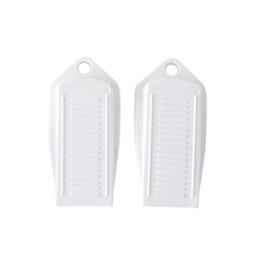 $enCountryForm.capitalKeyWord UK - 2pcs High Quality Rubber Door Stopper Baby Kids Safety Gate Protection Door Guard Anti Skid Stop Wedge Holder