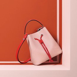 BB Bags online shopping - NEONOE NO BB Shoulder Bags Women Famous Brands Bucket Bag Luxury Designer Bags High Quality Crossbody Bag Handbag