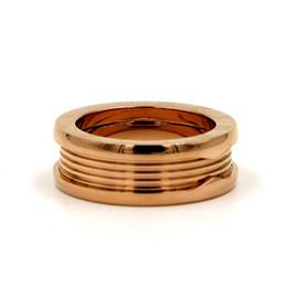 $enCountryForm.capitalKeyWord UK - Couple Finger Rings Roman Number Letter Imitated Spring Rings For Women Men Band 18K Rose Gold Titanium Steel Ring Novel Designer Jewelry