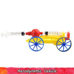 $enCountryForm.capitalKeyWord Australia - Physical Science Experiment Toy for Kids Plastic Aerodynamic Vehicle DIY Handmade Assembling Model Kits Creative Educational Toys Gifts