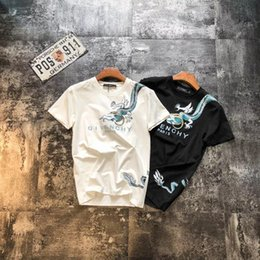 $enCountryForm.capitalKeyWord Australia - 19 Summer's latest Chinese Dragon Short Sleeve T-shirt, made of Odell cotton, is soft and comfortable, and its skin is refreshing.