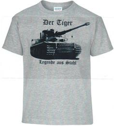 $enCountryForm.capitalKeyWord Australia - T-Shirt Battle Tank, Tiger, , Legend From Steel, German Reich Cotton Short Sleeve O-Neck Summer Cool Tees