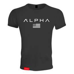 $enCountryForm.capitalKeyWord NZ - HOT 2019 New Muscle Brothers Fitness Men Sports Fitness Exercise Leisure Short-sleeved T-shirt Popular Simple Letter Modeling Leisure GYM