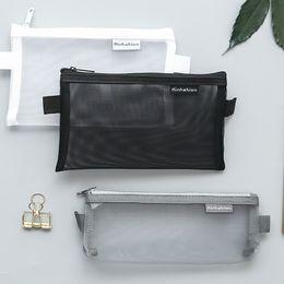$enCountryForm.capitalKeyWord Australia - Transparent Pencil Bag Fashion Zipper Pen Bag Stationery Supply Wholesale