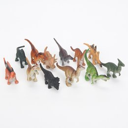 cute boys models UK - oys Hobbies Action Toy Figures NEW! 12pcs Set 6-7cm Cute Dinosaur Pterosaurs Tyrannosaurus Ankylosaurus Styracosaurus Action Figure toys ...