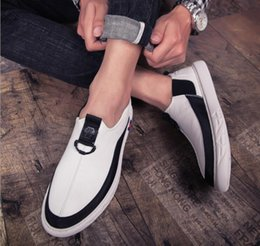$enCountryForm.capitalKeyWord NZ - 2019 fashion new trend leisure shoes men's white shoes four seasons popular fashion leather shoes for youth set foot drive