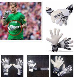 Fiber Performance Australia - Top Quality soccer Goalkeeper gloves football Predator Pro Same paragraph Protect finger performance zones techniques adult size 8-10