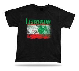 Cotton City T Shirts Australia - Lebanon flag Tshirt T-shirt Tee top city map green cedar holiness eternity peace 2018 New Leisure Fashion t-Shirt men cotton short sleeves
