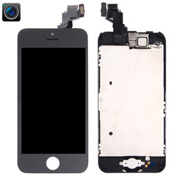Iphone 5c Screens Panels Australia - Original For iPhone 5C LCD Display Touch Digitizer Assembly Replacement Screen New Black Free DHL 100% Quality Assurance