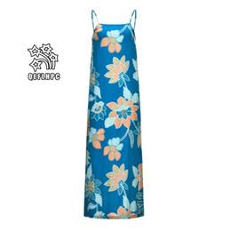 $enCountryForm.capitalKeyWord NZ - 2019 Summer Women's Clothing Sexy Women fashionable casual dresses Elastic waist Medium and long style Cotton material Spaghetti Strap MP349