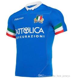 $enCountryForm.capitalKeyWord NZ - Hot sales NEW 2019 2020 ITALIA home away Rugby Jerseys FIR shirt ITALIA national team Italy League jersey S-3XL