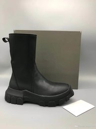 $enCountryForm.capitalKeyWord Australia - 18ss Factory Outlet Tall trees thick crust cream leather high-top boots without lining fashion personality men tpu outsole shoes