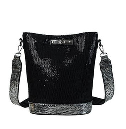 Chinese  2019 Spring New Arrival Sequins Women Bag Fashion Handbag Luxury Leather Shoulder Bags Small Crossbody Bags For Women Brand Sac manufacturers