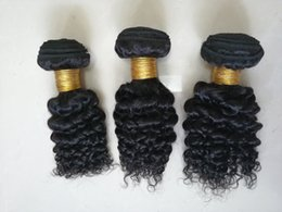 kinky curly hair weave styles Australia - zmhairwigs Wholesale Brazilian Peruvian Virgin Hair Weave Weaves Bundles Kinky Curly 3 Bundles 10inch-16inch BOB Style For Weaves Extensions