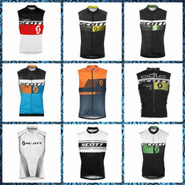 Scott Bikes Canada - 2019 New SCOTT team Cycling Sleeveless jersey Vest Mountain Bike Men's Clothing free delivery Factory direct sales U51009