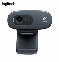 Built Computers Australia - C270 HD Vid 720P Webcam Built-in Micphone USB2.0 Mini Computer Camera for PC Laptop-OEM Package