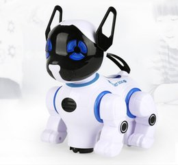 $enCountryForm.capitalKeyWord Australia - Remote control mechanical dog New Smart Bigdog Wangxing People Songs Dog Robot Early Education Educational Children Remote Control Toys Gift