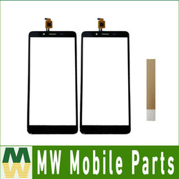 glasses wallet NZ - Good Quality For Highscreen Wallet Touch Screen Digitizer Sensor Glass Panel Black Color With Tape
