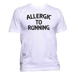 $enCountryForm.capitalKeyWord UK - Allergic To Running T-Shirt Mens Womens Unisex Fashion Slogan Comedy Cool Funny metallica fan pants t shirt