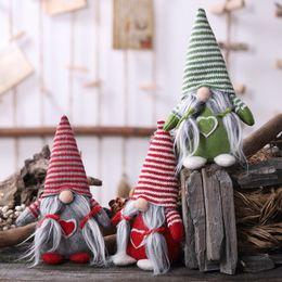 $enCountryForm.capitalKeyWord Australia - Cartoon Christmas Faceless Doll Tied Beard Hanging Legs Dolls Pendants Christmas Tree Decoration Home Ornament