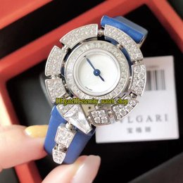 $enCountryForm.capitalKeyWord NZ - 5 Color Serpenti Jewellery Watches 102538 SPW30D2GD2L White Dial Swiss Quartz Womens Watch Diamonds Bezel Blue Leather Strap Lady Watches