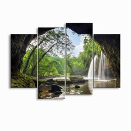 Art Canvas Prints Australia - painting & calligraphy print Landscape canvas poster wall art living room restaurant Bedroom Decorative paintings FJT4-009