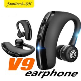 universal high quality wireless bluetooth headset Australia - high quality V9 Wireless Bluetooth Headphones CSR 4.1 Business Stereo Wireless Earphones Earbuds Headset With Mic Voice Control with package
