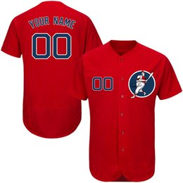 a5fc4b96985 Jerseys stores online shopping - Custom Mens Baseball Jerseys Any Name Any  Number Stitched Embroidery Personalized