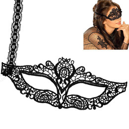 Sexy half maSkS online shopping - opening promotion Sexy Lady Girl Lace Eye Mask Halloween Party Fancy Dress Make Up