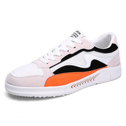Most Popular Casual Shoes UK - Top Sale 2018 Spring and Fall 1990s Teenagers Breathable Colorful Leather with Mesh Most Popular and Fashionable Casual Shoes for Men