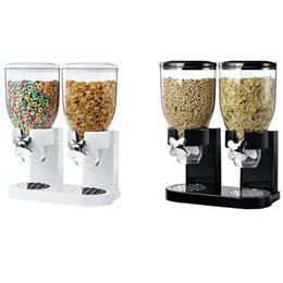 dispense machine Canada - 5L Multifunctional Pasta Cereal Dry Dispenser Storage Container Dispense Household Kitchen Machine Storge Bottles