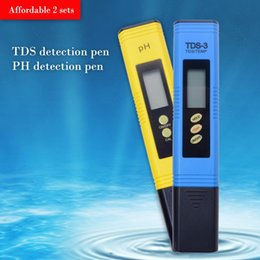 Ph Pens Wholesale Australia - Portable Pen Digital Automatic calibration 0.01 PH+ TDS-3 Titanium alloy probe Meter Measuring Water Quality Tester