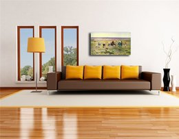 $enCountryForm.capitalKeyWord Australia - The Child On The Lawn HD Oil Canvas Posters Prints Wall Art Painting Decorative Picture Landscape Home Decoration Accessories