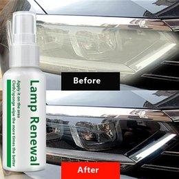 $enCountryForm.capitalKeyWord Australia - New 2019 20ml 50ml Car Liquid Headlight Retreading Agent Lamp Repair Essence For Scratches Yellowing Oxidation Blurred
