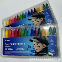 $enCountryForm.capitalKeyWord Australia - 50sets 16 Colors Face Painting Pencils Face Paint face boay Painting Pen
