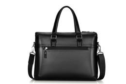 Laptop Travelling Bag Australia - Men Casual Briefcase Business Shoulder Bag Leather Messenger Bags Computer Laptop Handbag Bag Men Travel Bags HW