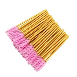 $enCountryForm.capitalKeyWord UK - 1000pcs Disposable Mascara Wands Applicator Bulk Eyelash Extension Brush Eyebrow Brushes Make Up Tools For Women Accessories J190710